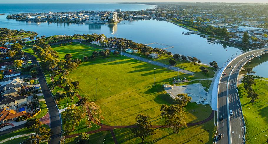 mandurah city perth western australia
