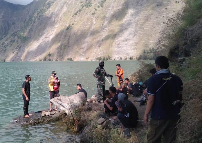 penertiban pendakian ilegal gunung rinjani