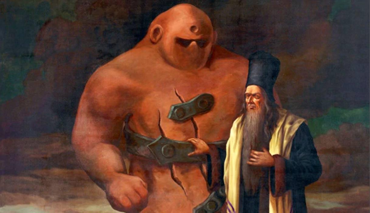 kisah golem monster yang dibuat oleh rabi yahudi