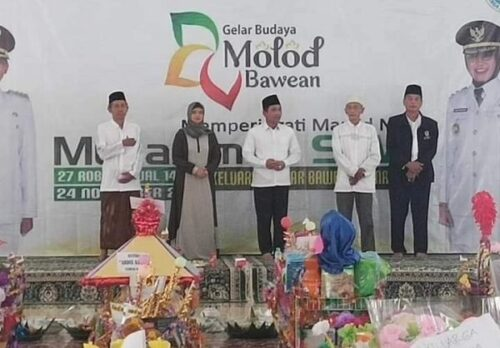 maulid nabi muhammad di pulau bawean